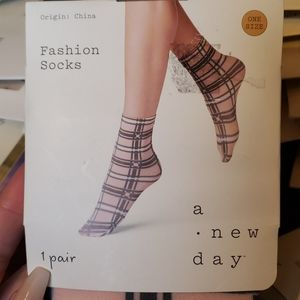 NWT Fashion Socks